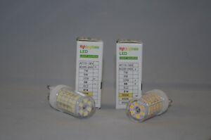5 x G9 LED Bulbs 10W 1000LM  220 - 240 V Cool White 6500K /  Warm White 3000K