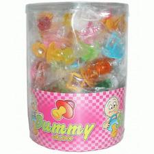 Lollipops Schnuller 60 Stück Lutscher Lollies  Dauerlutscher am Stiel