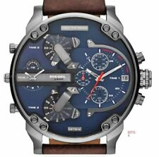 Diesel Mr Daddy 2.0 DZ7314 Multiple Time Zone Chronograph Mens Watch