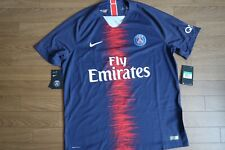 Nike PSG Paris Saint Germain Vaporknit Soccer Jersey 2018/2019 894419-411 Sz XL