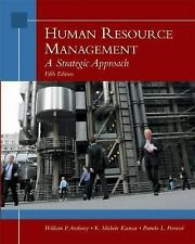 Human Resource Management: A Strategic Approach Fifth Edition Career School