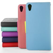 Flip Wallet Pouch Phone Cover Case with Screen Protector for Sony Xperia Z4v