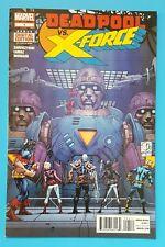 DEADPOOL VS. X-Force #4 Marvel Comics 2014 Duane Swierczynski Cable X-Men