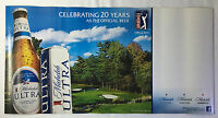 2013 MICHELOB ULTRA Beer poster/sign ~ Official Beer of PGA Tour, 16x32