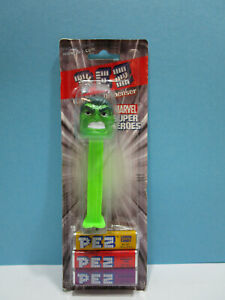 PEZ Candy & Dispenser from the USA Marvel Super Heroes Hulk  OVP