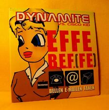 Cardsleeve single CD Dynamite Vs Cisco Kid Effe B.e.f.(fe) 3 TR 2000 Jumpstyle
