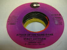 Soul 45 STACY LATTISAW Attack Of the Name Game on Cotillion