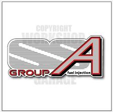 VL SS Group A Holden Commodore Walkinshaw - MEGA SIZE Sticker