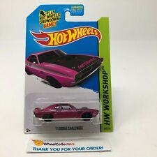 '71 Dodge Challenger #242 * Purple Kmart * 2014 Hot Wheels * JC18