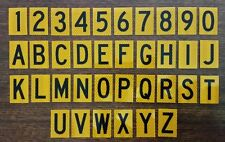 60mm Letterbox Numbers - House / Bin Numbers - Australian Made - From $1.25 each