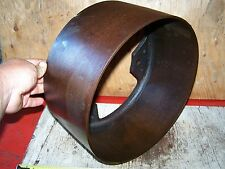 Old Unknown Cast Iron Belt Pulley Hit Miss Gas Engine Corn Sheller Steam Oiler