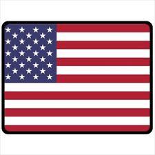 American Flag Large Polar Fleece Throw Blanket AFBL1