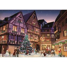 NEW! Piatnik Puzzles Vintage Christmas Village 1000 piece festive jigsaw puzzle