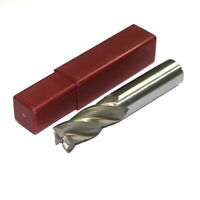 3/4 Inch End Mill 4 Flute HSS Straight Shank CNC Milling Cutter Tools