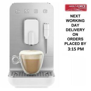 Smeg BCC02WHMUK Bean To Cup 19 bar Espresso Coffee Machine + 2 Year Warranty