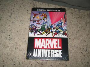 OFFICIAL HANDBOOK OF MARVEL UNIVERSE OMNIBUS is SEALED!  OOP! Complete run!