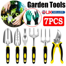 7PCS Garden Hand Tool Set Home Gardening Kit Trowel Digging Plant Weeding Tools