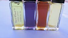 Lot (4) 1/3 oz Essential oil Green Apple,Violet,Desert Rain,Shalimar musk Unused