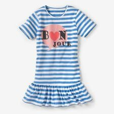 Short Sleeve 100% Cotton Dresses (2-16 Years) for Girls