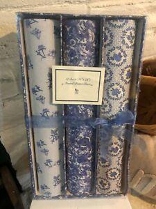 Vintage Fragranced Drawer Liners blue floral NOS NIP Once Upon a Rose Brand