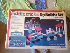 Vintage NIB Fiddlesticks Sesame Street Knickerbocker Toy Builder Set 1978 Sealed