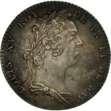 [#494371] France, Token, Louis XV, Académie Française, AU(50-53), Silver