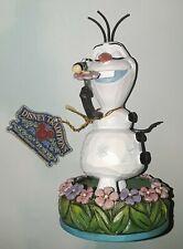 Disney Showcase Jim Shore Enesco Olaf 'Dreaming of Summer' #4046037~Bid@$19.98