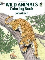 Wild Animals Coloring Book (Dover Nature Coloring Book) by John Green