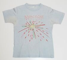 Rolling Stones T-shirt Vintage 1982 Concert Tee Still Life Tour 80s Jagger Small