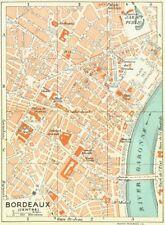 Bayonne 1926 old vintage map plan chart FRANCE
