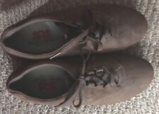 Womens Size 10N SAS Freetime Brown Nubuck Leather Lace-Up Oxfords