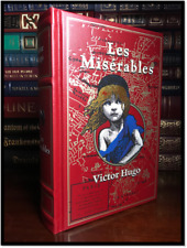 Les Miserables by Victor Hugo Brand New Leather Bound Collectible Gift Edition