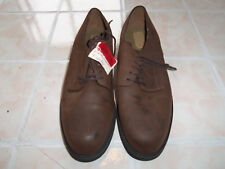 New Ease by Florsheim Men's Brown Casual Dress Lace-up Oxford Shoes 11M