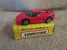 Matchbox  Die Cast Ferrari F50 - MB 75   - NEW!!!  (1 T)
