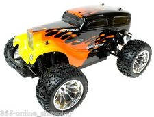HSP 1/10 Scale HOT ROD RC Electric Monster Truck Car Off Road Fast 2.4ghz