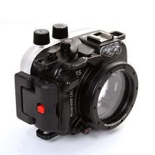 MeiKon 40m Underwater Waterproof Diving Photo Housing Case Fr Nikon J5 10mm Lens