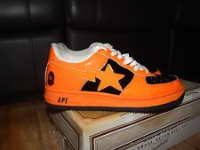Bape a Bathing Ape Bapesta Halloween ARANCIO NERO uk8 us9 estremamente rara