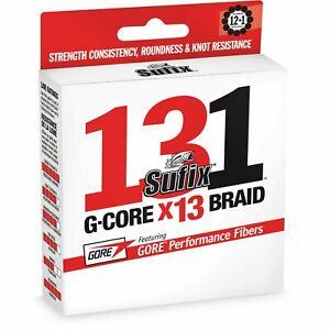 Sufix 131 Braid 30 lb Low-Vis Green 150 Yds 631-030G