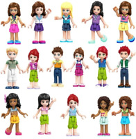 Princess Girl Compatible with Newest Lego Figures Com Olivia Kate Dancet Andrea