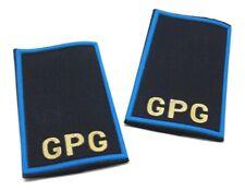 Tubolari GPG plastificati azzurro blu per guardia giurata