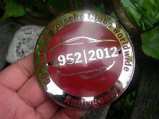 60 YEARS of PORSCHE CLUBS worldwide - Anniversary engine grille Badge
