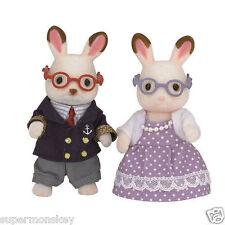 Sylvanian Families Sf5190 Chocolate Rabbit Grandparents Set Ep15130