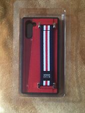 Samsung Galaxy Note 10  Design Skin Craft Graft Leather Case/ Card Holder