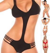 KouCla DIVE IN! Women's One Piece Monokini Swimwear Swimsuit - S/M/L/XL