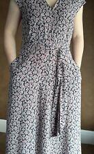 NWT Weekend MaxMara Size 14US Gerarda Summer Maxi Silk Flower Dress Orig.575$