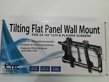 eTEC Titlting Flat Panel Wall Mount for 23-42'' LCD & Plasma Screens ETC83755