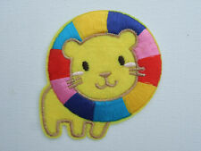 Lovely Soft Feel Wild Animal Motif Iron Or Sew On Patch Africa Zoo Soft Feel