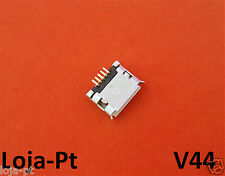V44 - Micro USB Charging Port DC Power Socket 5 Pin for Fix Phones and Tablets