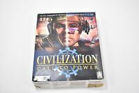 Civilization Call to Power PC CD ROM Game Open Box Windows 95 98 NT