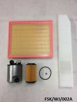 Filters Service KIT Jeep Grand Cherokee WJ 2.7CRD 2002-2004   FSK/WJ/002A